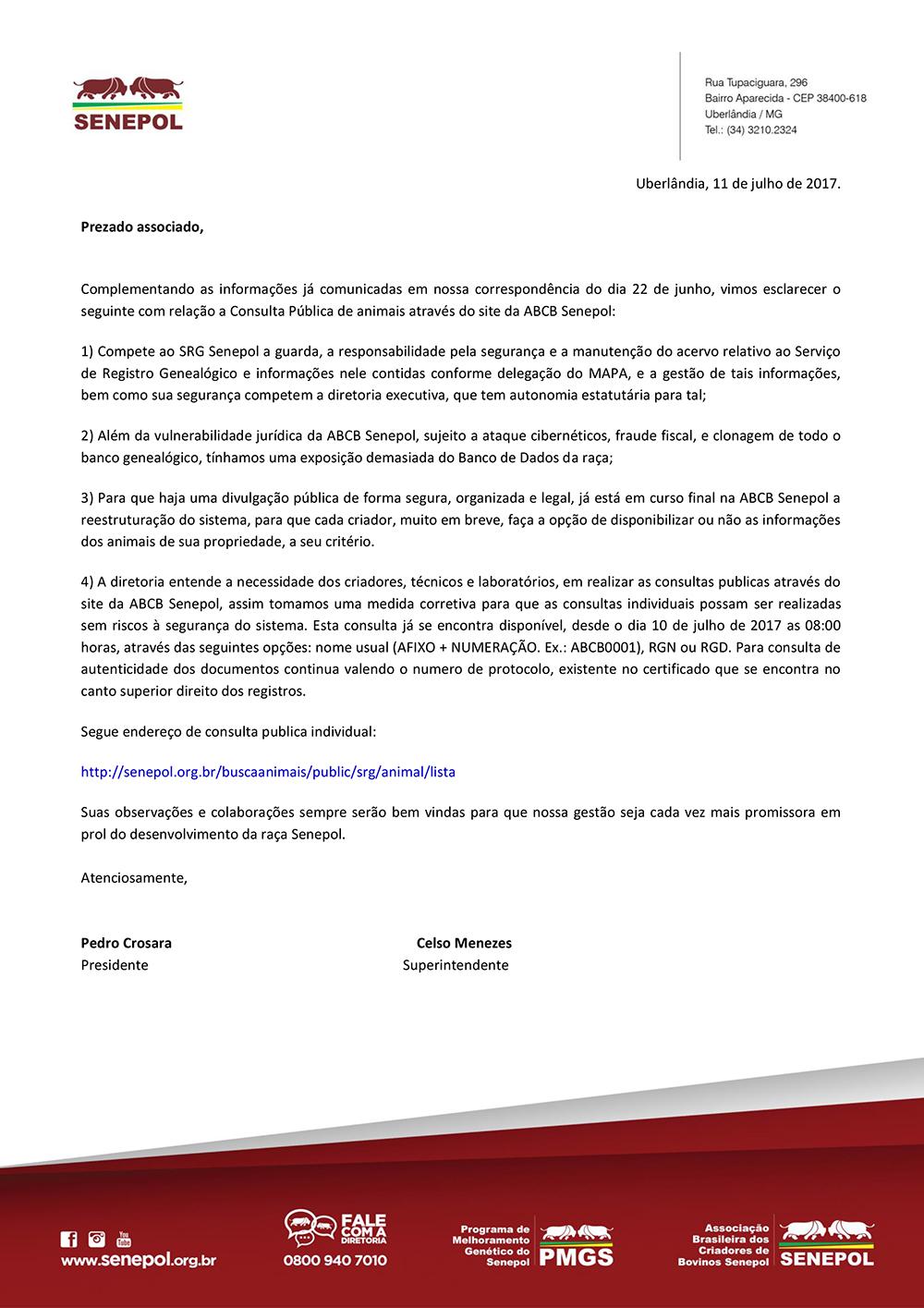 CARTA_AO_ASSOCIADO